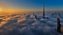Απίστευτες φωτογραφίες: Οι ουρανοξύστες του Ντουμπάι μέσα στα