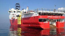 Αναφορές για πρόσκρουση σε ξέρα συνοδευτικού σκάφους του