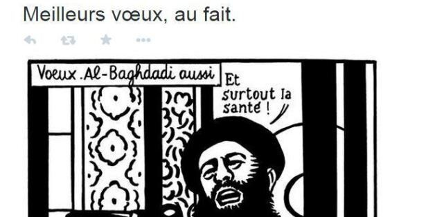 Charlie Hebdo: Σύμβολο της ελευθερίας της έκφρασης tweet της συντακτικής ομάδας του