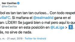 El Athletic triunfa en Twitter con su corrección a este mensaje de Iker