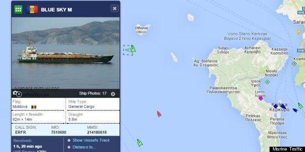 Σήμα κινδύνου από πλοίο στα ανοιχτά της