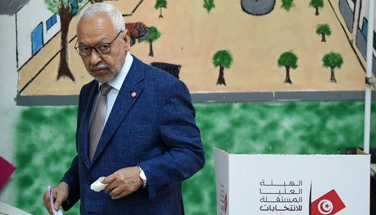 """Pour Rached Ghannouchi, le premier tour de la présidentielle montre la """"fin de la gauche et des"""