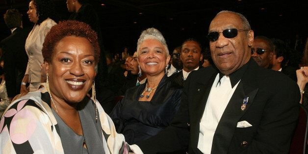 LOS ANGELES, CA - MARCH 02: Actress CCH Pounder, comedian Bill Cosby and wife Camille O. Cosby in the...
