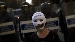 Μαζικές διαδηλώσεις στην Ισπανία κατά του νόμου