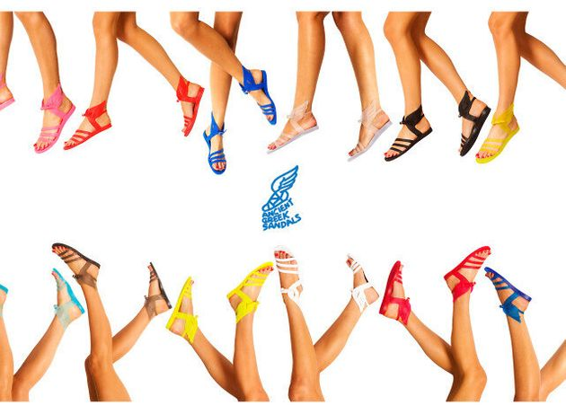 Ancient Greek sandals: Τα αρχαιοελληνικά σανδάλια που κατάκτησαν το