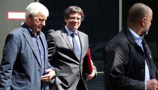 Matamala, mano derecha de Puigdemont, se va a Waterloo al perder el