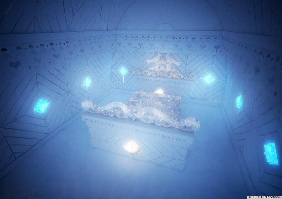 Icehotel: Το εντυπωσιακό ξενοδοχείο φτιαγμένο από πάγο στον Αρκτικό