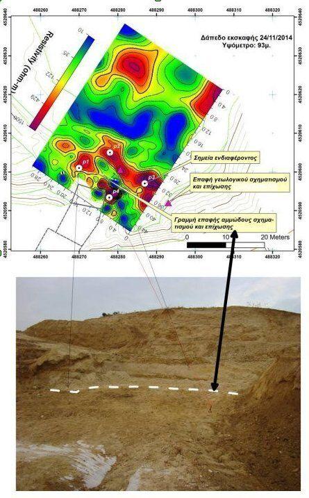 Η γεωλογική χαρτογράφηση του λόφου Καστά στην
