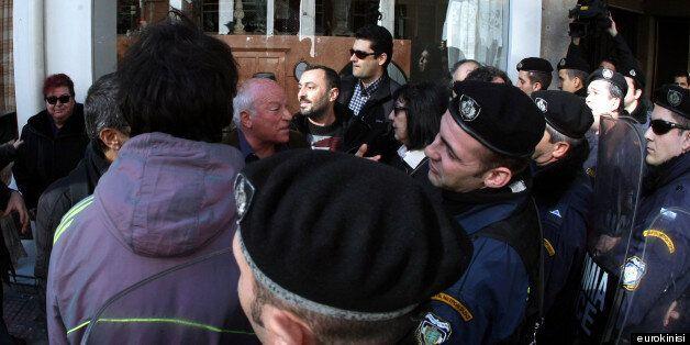 Αστυνομία κατά δημοσιογράφων στην εκδήλωση για τα 100 χρόνια ζωής της