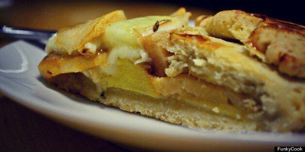 Τάρτα με Μήλα, Κολοκύθα και Τυρί