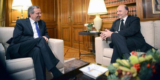 Συνάντηση Μοσκοβισί - Σαμαρά : Δεν παρεμβαίνω στην ελληνική