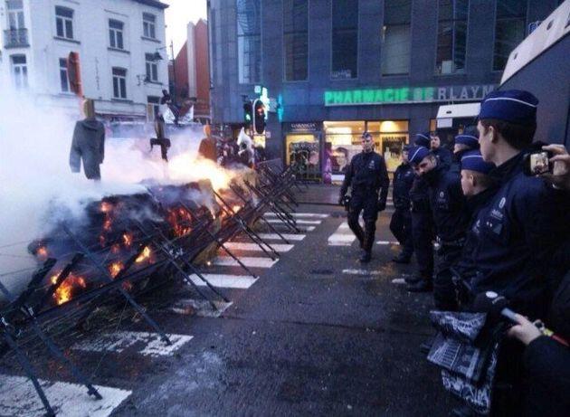 Ογκώδες συλλαλητήριο αγροτών στις