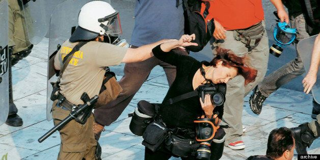 Υποθέσεις αστυνομικής βίας σε εκπροσώπους του Τύπου και