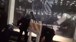 Πανικοβλημένη η αστυνομία στο Σαν Φρανσίσκο - Έριξαν οδόφραγμα σε κεφάλι αστυνομικού ( βίντεο