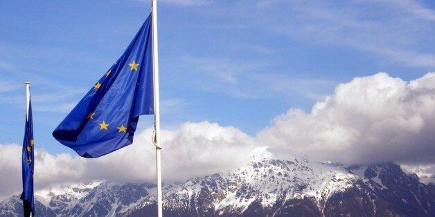I tried to feel something as the EU flag waved in front of the alps. But nothing happened.