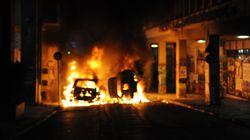 Δεν προλάβαινε να μετρά εκρήξεις και εμπρησμούς η Αστυνομία τα ξημερώματα στην
