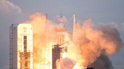 Τα πρώτα 10 λεπτά πτήσης του διαστημικού σκάφους