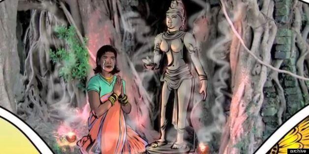 H νέα Ινδή υπέρ-ηρωίδα κόμικ έχει ξεπεράσει το