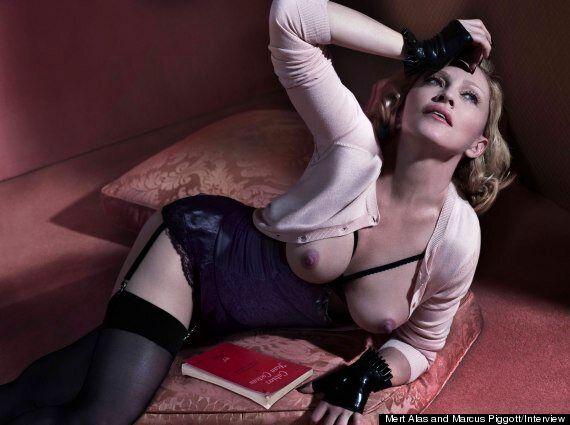 Η Μαντόνα γυμνή αποκαλύπτει ότι έχει δοκιμάσει όλα τα