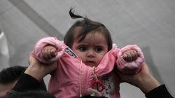 Σε ξενώνα αλληλέγγυων οι γυναίκες και τα παιδιά των Σύριων