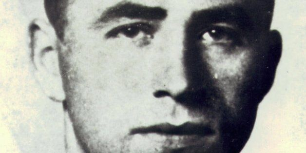 Undated picture of Austrian-born Alois Brunner, one of the world's most-wanted Nazi war criminals. Brunner...