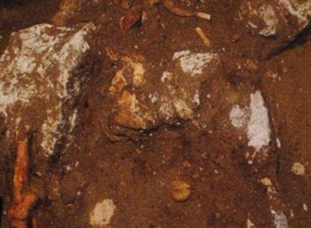 Η πρώτη φωτογραφία από τα οστά του «ενοίκου» του τύμβου της