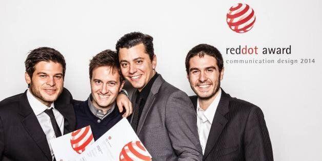 Η ομάδα του Ladolea στα Red Dot Awards Communication Design 2014