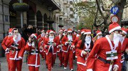 Έτρεξαν 2,5 χιλιόμετρα ντυμένοι Άγιοι