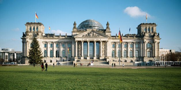 The German Reichstag inBerlin, Germany, 09 December 2014.