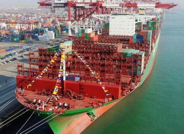CSCL Globe: Αυτό είναι το μεγαλύτερο πλοίο μεταφοράς εμπορευματοκιβωτίων στον
