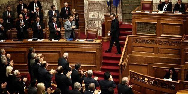 170 βουλευτές στην πρώτη ψηφοφορία για Δήμα ο στόχος