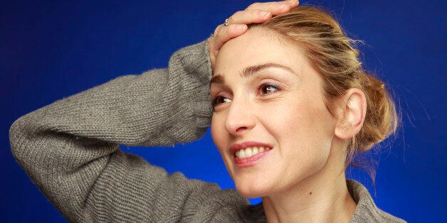FILE - This is a Wednesday, Jan. 27, 2010 file photo of French actress Julie Gayet as she poses for a...