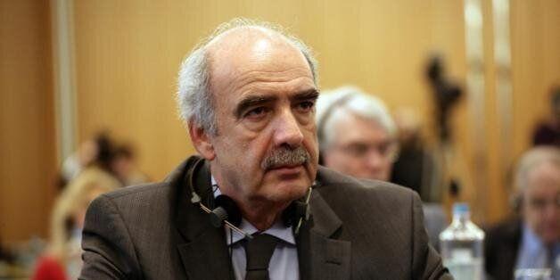 Β. Μεϊμαράκης: «Η πρόταση μου για Πρόεδρο