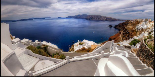 Every photo of Santorini turns out beautiful, no matter where you point your camera and what lens you...