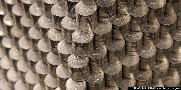 Με μια πυραμίδα από νομίσματα αποχαιρέτησαν το εθνικό νόμισμα στη