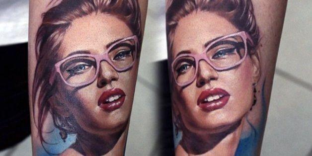 Μοναδικά υπερρεαλιστικά τατουάζ από την Βαλεντίνα