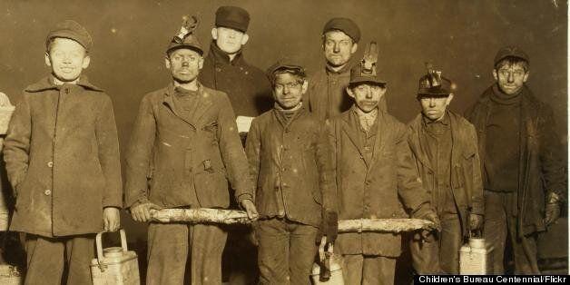 Η αναγνώριση δικαιωμάτων στα παιδιά - εργάτες της Βιομηχανικής