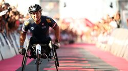 Alex Zanardi da record all'Ironman di Cervia: