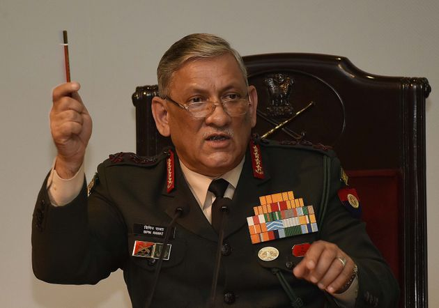 File image of Army Chief General Bipin