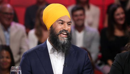 Je partage vos valeurs, dit Jagmeet Singh à «Tout le monde en