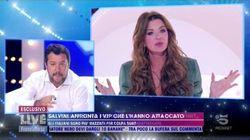 Scontro Salvini Parietti sulla bimba di