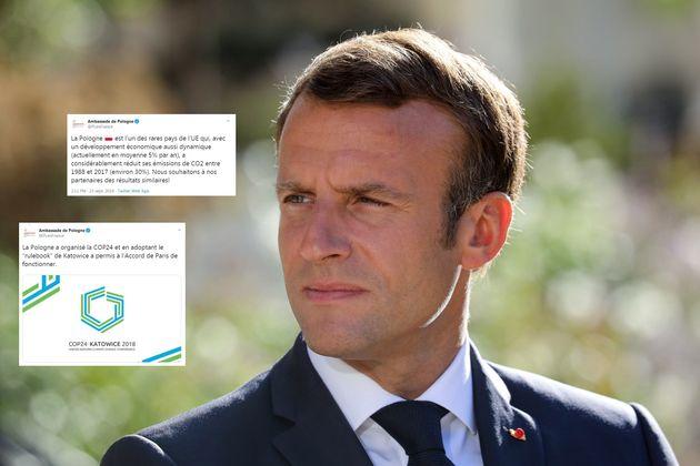 La Pologne répond aux propos de Macron sur le climat