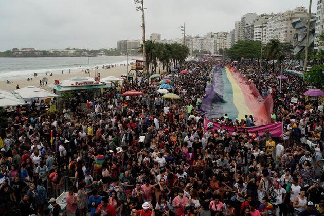 No Rio, a Parada teve 7 trios elétricos. Entre as atrações mais aguardadas pelo...