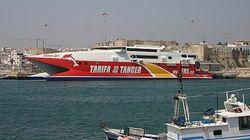 Mauvais temps: Trafic maritime suspendu entre Tanger-ville et