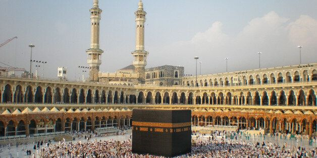 A view of Khanna Kaaba before the extension project of King Abdullah