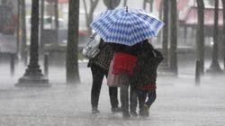 Fortes pluies et fortes rafales de vent annoncées ce mardi et