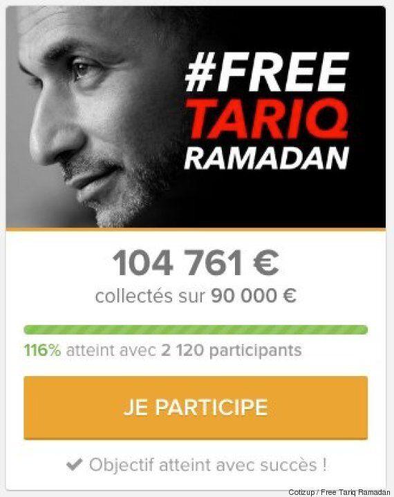 Tariq Ramadan: une cagnotte en ligne pour payer ses frais de justice atteint