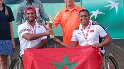 Les Marocains se qualifient pour la Coupe du monde de tennis en fauteuil