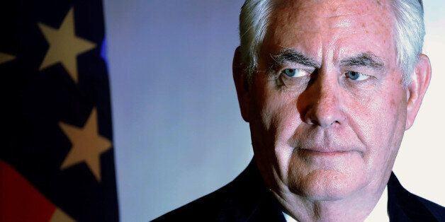U.S. Secretary of State Rex Tillerson participates in a news conference with Nigeria's Foreign Minister...