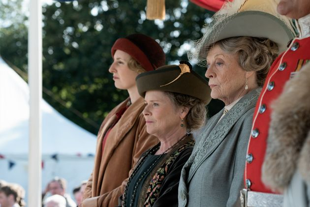 Laura Carmichael stars as Lady Edith, Imelda Staunton as Maud Bagshaw and Dame Maggie Smith as Violet...